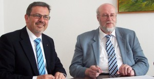 Speyer Vertragsunterzeichnung OB Böhmer