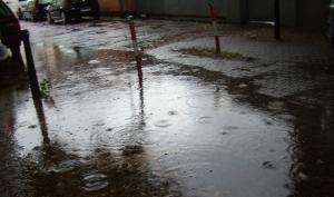 Heftige Regenfälle