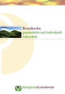 GfBK Broschüre Brustkrebs Titelseite