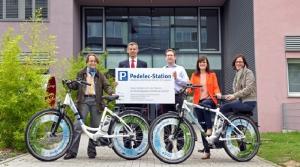 Heidelberg erste Pedelec-Verleihstation