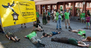 Heidelberg Greenpeace Flashmob Nationalpark