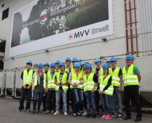 Jugend denkt Zukunft bei MVV Energie
