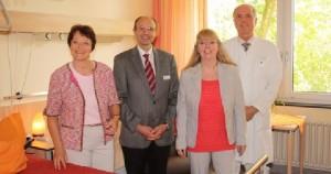 Palliativzimmer GRN Klinik Sinsheim