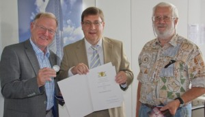 Mannheim Verleihung Staufermedaille Dr. Gerhard Rietschel