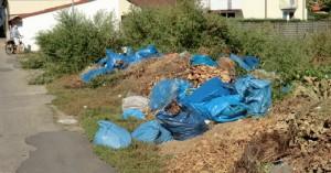 Mannheim Niederbruecklplatz Müllkippe
