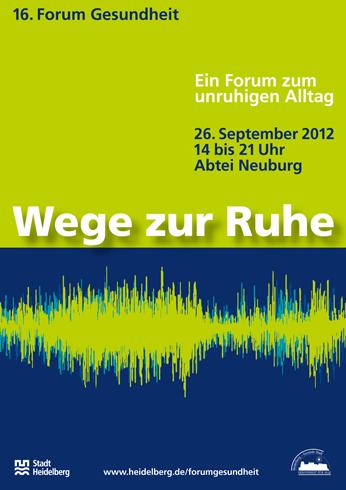 Plakat Forum Gesundheit Heidelberg