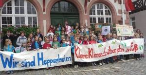 Heppenheim Grundschüler sammeln Klimameilen