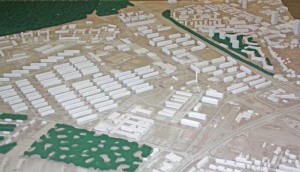 Mannheim Modell Benjamin Franklin Village