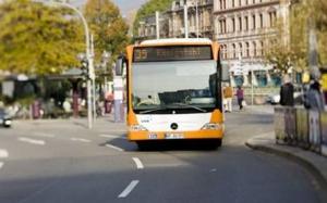 Feinstaubplaketten Busflotte