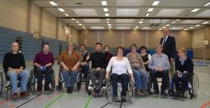 Landau OB Rollstuhl-Training