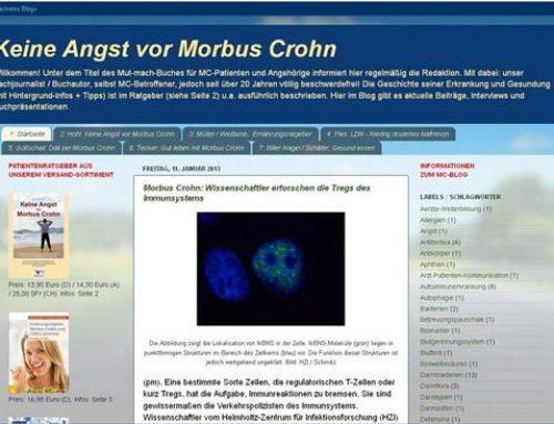 Heidelberg: Internet-Blog zu Morbus Crohn startete in den 3. Jahrgang
