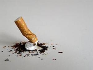 Zigarettenkippe
