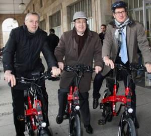 Mannheim Fahrräder Rathaus