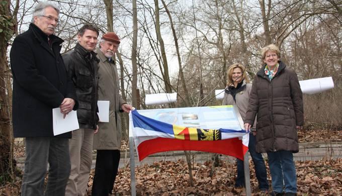 Mannheim Infotafeln Waldpark