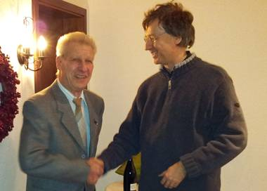 Willi Zahn und Andreas Diebold