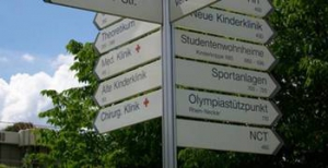 Campus Schilder