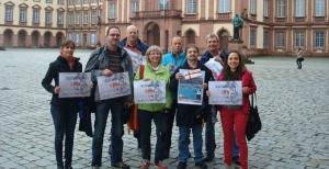 Mannheim Fahrrad-Aktion