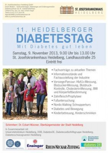 Plakat Diabetes-Tag 2013