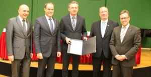 Unterzeichner Kooperationsvereinbarung