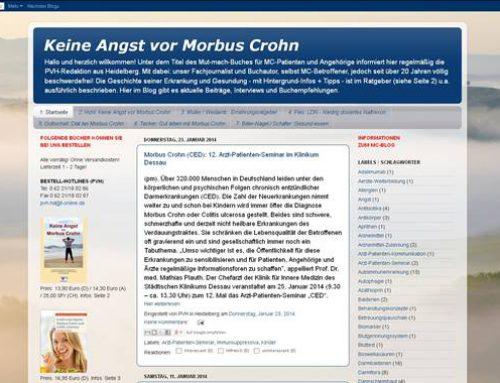 Heidelberg: Blog zu Morbus Crohn jetzt im 4. Jahrgang – und neuen Gewand