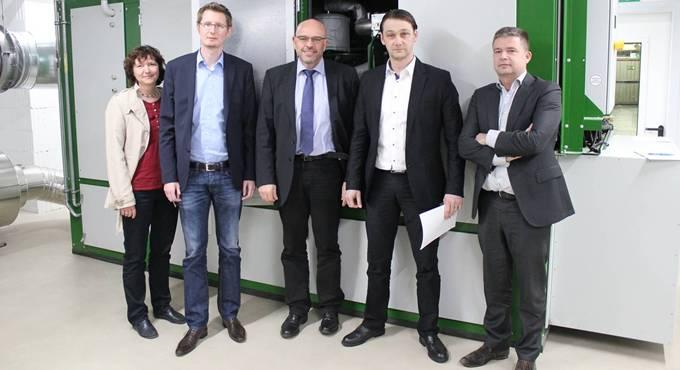 Weinheim Kukident Blockheizkraftwerk