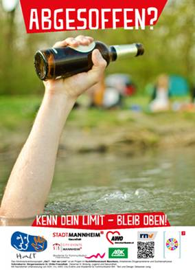 Mannheim Plakat Alkoholprävention