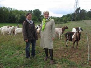 Schäferin und Bürgermeisterin Kubala