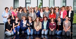 """""""Abenteuer Essen"""": Vertreter aller teilnehmenden Kitas. Foto: Metropolregion Rhein-Neckar"""