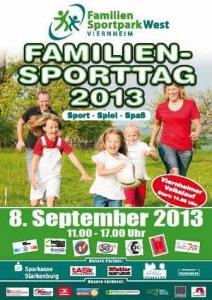 5. Viernheimer Familiensporttag @ Familiensportpark West | Viernheim | Hessen | Deutschland