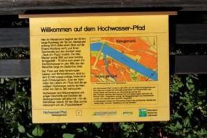 Neckargemünd Hochwasser-Pfad
