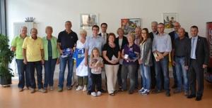 Sinsheim Preisverleihung AOK-Radsonntag