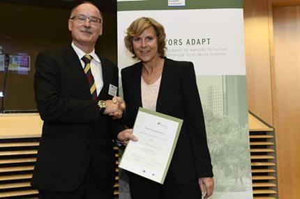 Worms mayors adapt Unterzeichnung