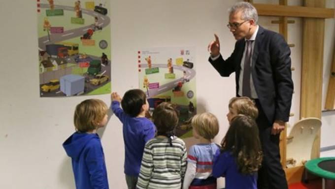 Lärmschutzplakat Kindergarten