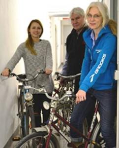 Mannheim Fahrräder an Flüchtlinge