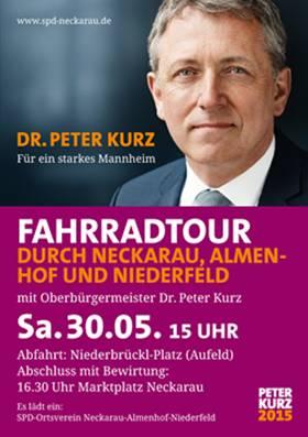 Mannheim SPD Fahrradtour