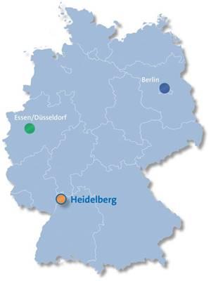 Drei DKTK-Standorte