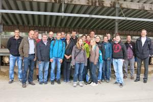 Lehrer besuchen Bioenergiedorf