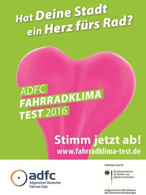 ADFC Fahrradklima_Test 2016