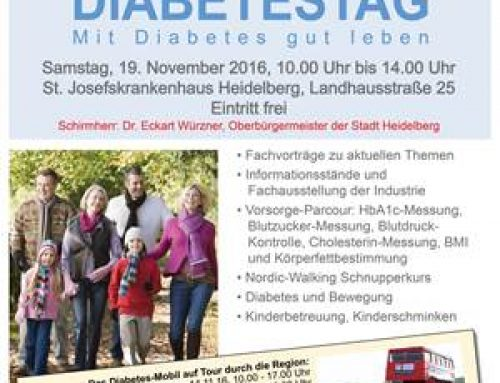 Region / Heidelberg: Diabetes-Mobil auf Tour und 14. Diabetes-Tag