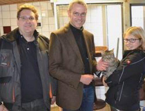 Landau: Bürgermeister Dr. Ingenthron besuchte Tierheim