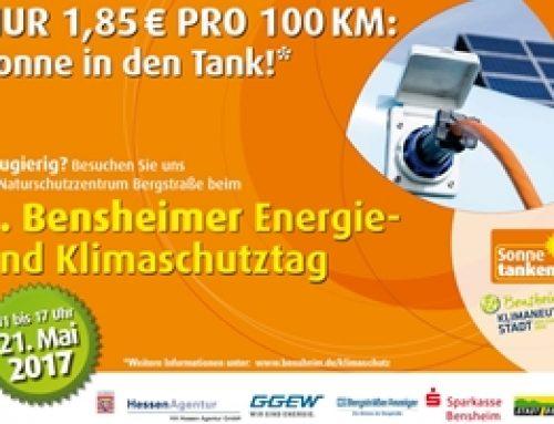 Bensheim: Energie- und Klimaschutztag