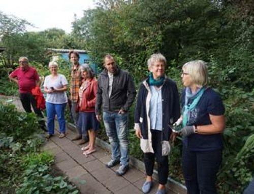 Mannheim: Bürgermeisterin besuchte Gemeinschaftsgärten