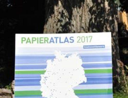 Papieratlas-Städtewettbewerb: Landau steigert Recyclingpapieranteil auf 90 Prozent