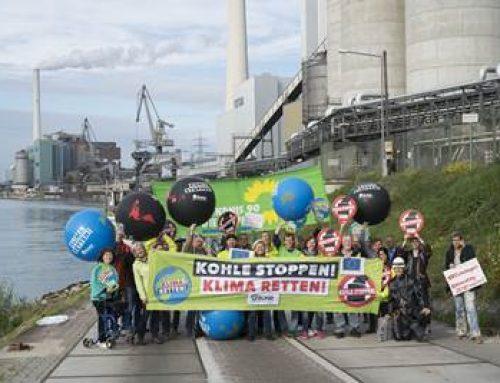 Klimaschutz-Aktion in Mannheim