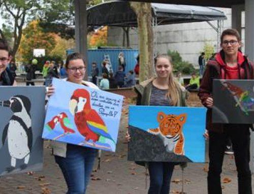 """Landau: """"Krafttiere"""" – gemeinsames Projekt von Zooschule und Eduard-Spranger-Gymnasium"""