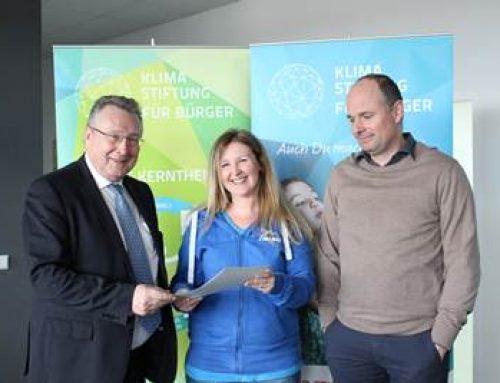 Klimastiftung und NABU Sinsheim unterzeichneten Kooperationsvertrag