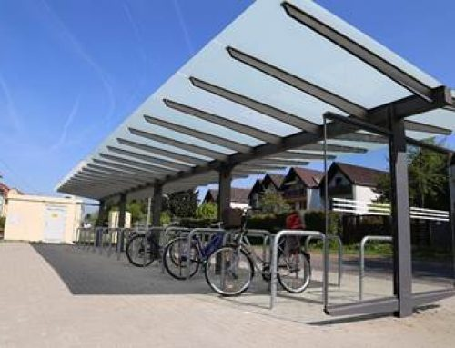 """Heidelberg: """"Bike & Ride"""" an der Haltestelle """"Wieblingen Mitte"""""""