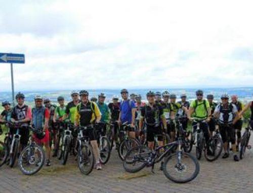 Sinsheim: Mountainbike-Tour mit OB Jörg Albrecht