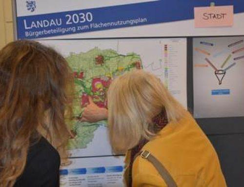 """""""Landau 2030"""": Bürgerbeteiligung zur Neuaufstellung des Flächennutzungsplans"""