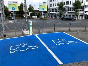 Parkflächen Ladestationen Bensheim